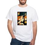 Ukiyo-e - 'Kunidragon' White T-Shirt