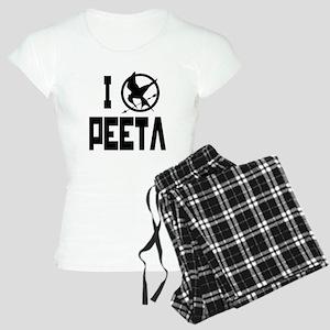 I Love Peeta Hunger Games Women's Light Pajamas