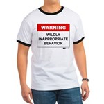 Warning Wildly Inappropriate Ringer T