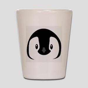 Penguin face Shot Glass
