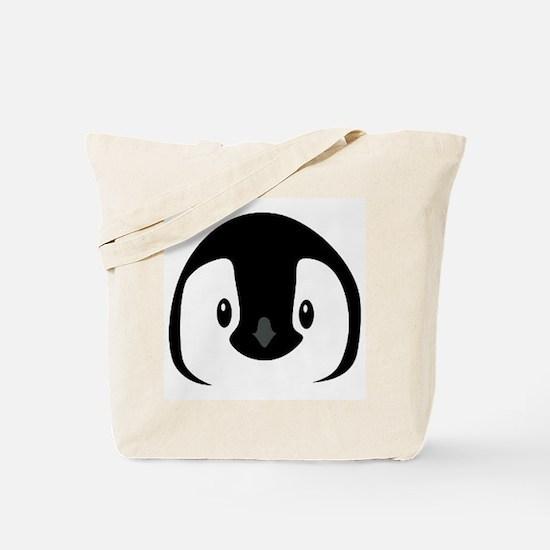 Penguin Face Tote Bag