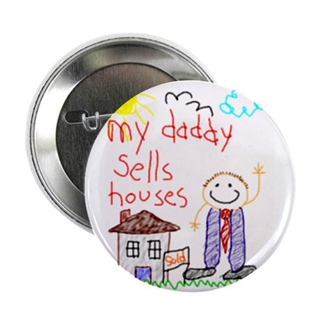 """Real Estate Daddy 2.25"""" Button (10 pack)"""