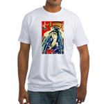 Ukiyo-e - 'Kunichika Penance' Fitted T-Shirt