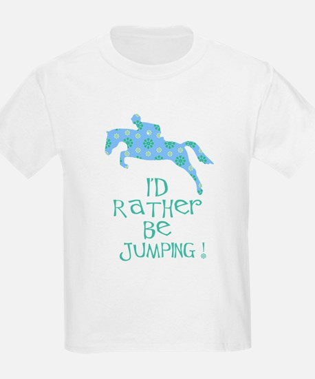 rather be jumping blue tr T-Shirt