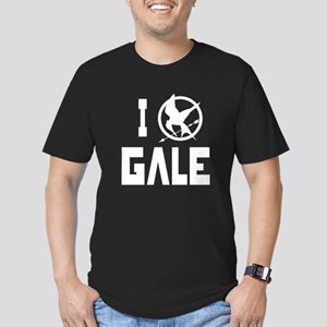 I Love Gale Hunger Games Men's Fitted T-Shirt (dar