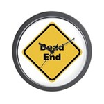 Dead End Wall Clock