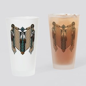 Native American Breastplate - Drinking Glass