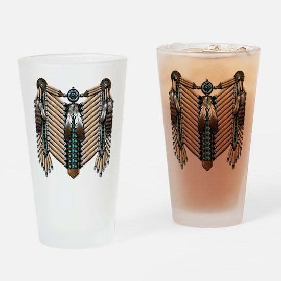 Native American Breastplate - Drinking Glass