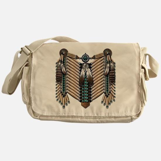 Native American Breastplate - Messenger Bag