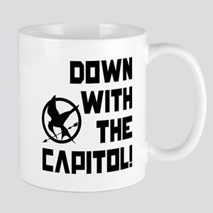 Down With The Capitol! The Hunger Games Mug