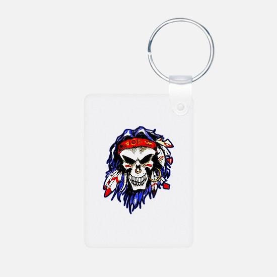 Savage Skull Keychains