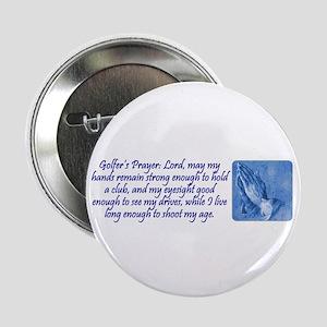 Golfer's Prayer Button