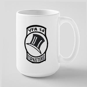 VFA 14 Tophatter Large Mug