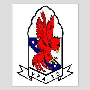 Attack Squadron 22 Small Poster