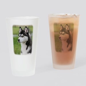 Siberian Husky 9Y570D-006 Drinking Glass