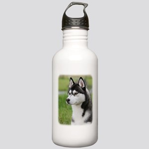 Siberian Husky 9Y570D-006 Stainless Water Bottle 1