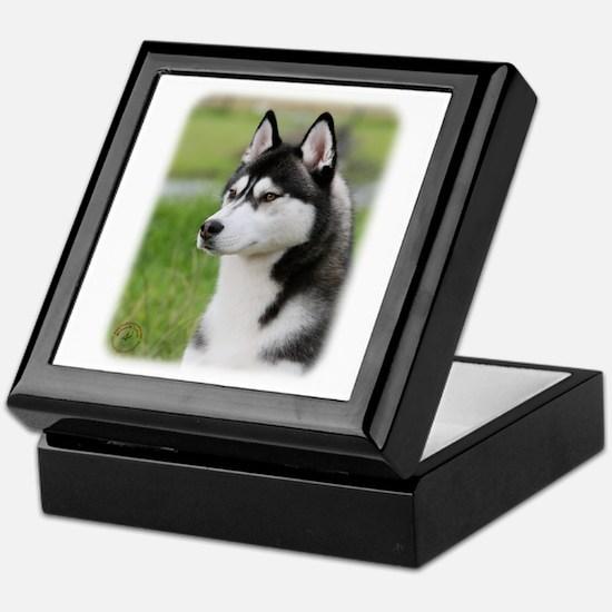 Siberian Husky 9Y570D-006 Keepsake Box