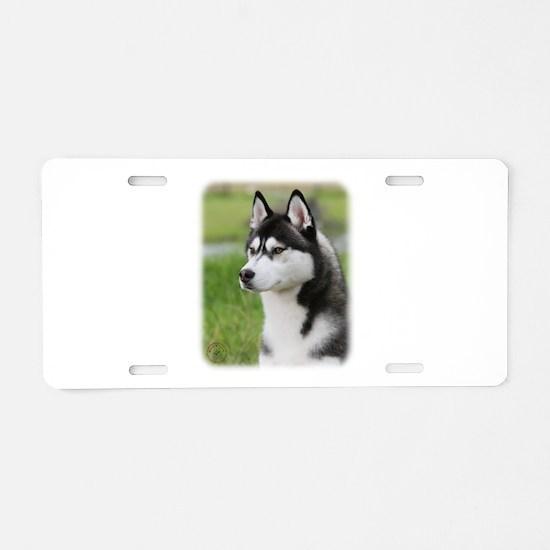 Siberian Husky 9Y570D-006 Aluminum License Plate