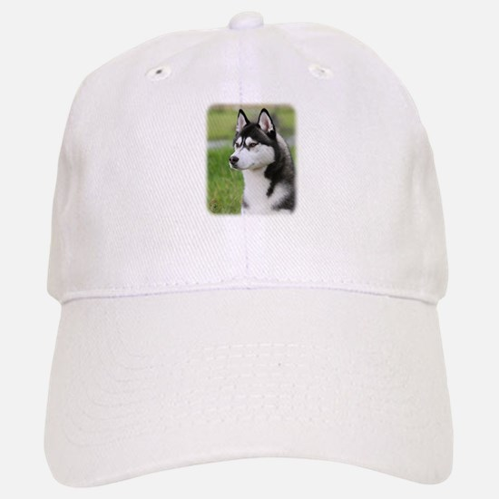 Siberian Husky 9Y570D-006 Baseball Baseball Cap