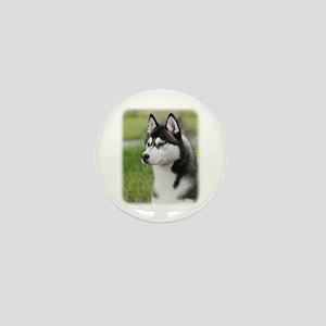 Siberian Husky 9Y570D-006 Mini Button