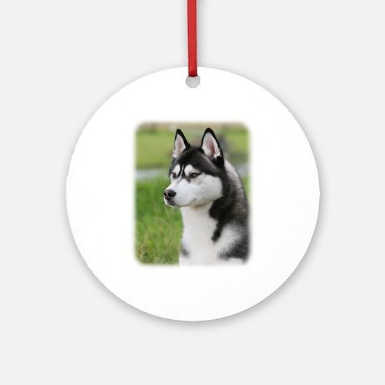 Siberian Husky 9Y570D-006 Ornament (Round)