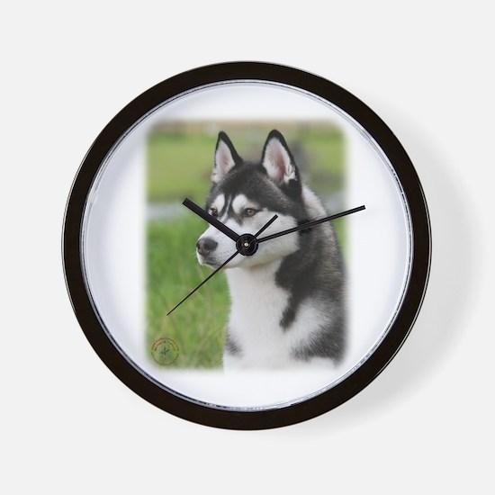 Siberian Husky 9Y570D-006 Wall Clock