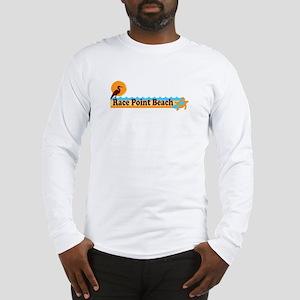 Race Point Beach MA. Long Sleeve T-Shirt