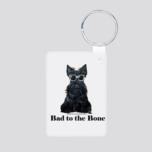 Scottie Bad to the Bone Aluminum Photo Keychain