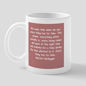 martin heidegger Mug