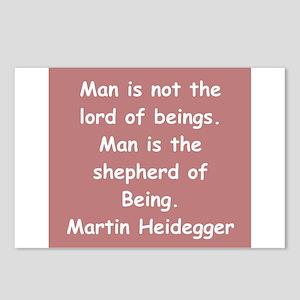 martin heidegger Postcards (Package of 8)