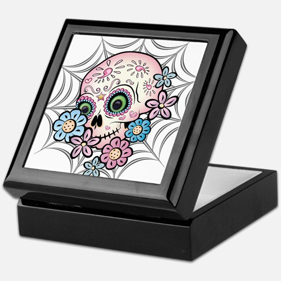 Sweet Sugar Skull Keepsake Box