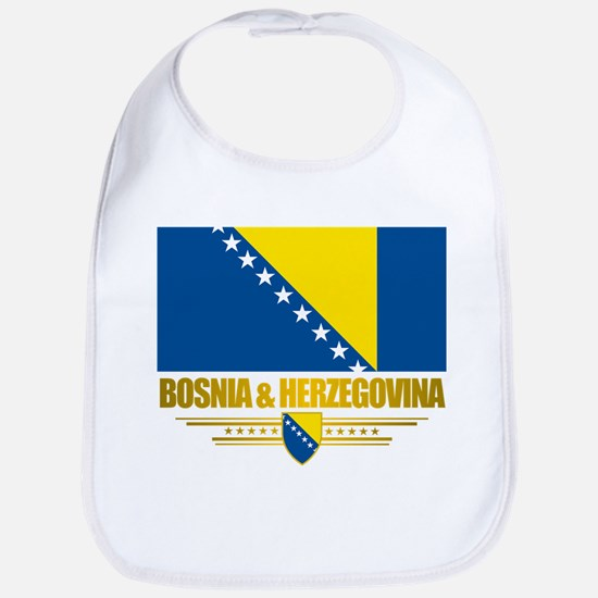 """Bosnia & Herzegovina Flag"" Bib"