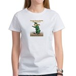 Orange Forest Rabbit Women's T-Shirt