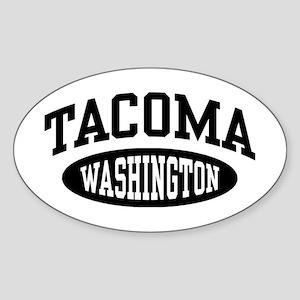 Tacoma Washington Sticker (Oval)