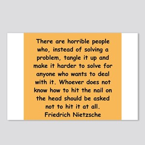 nietzsche gifts and apparel. Postcards (Package of