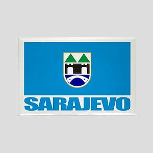 """""""Sarajevo"""" Rectangle Magnet"""