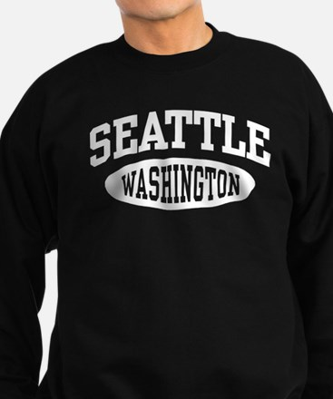Seattle Washington Sweatshirt (dark)