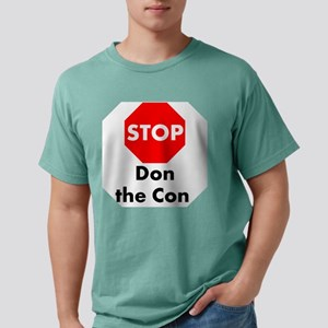 Stop Don the Con Mens Comfort Colors Shirt