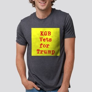 KGB Vets for Trump Mens Tri-blend T-Shirt