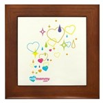 Sparkle MilkMommy Framed Tile
