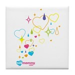 Sparkle MilkMommy Tile Coaster