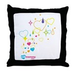 Sparkle MilkMommy Throw Pillow