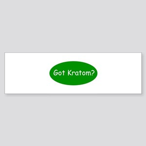 Got Kratom Sticker (Bumper)