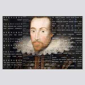 Shakespeare, Text of Hamlet, Large Poster
