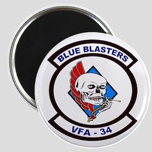 VFA 34 Blue Blasters Magnet