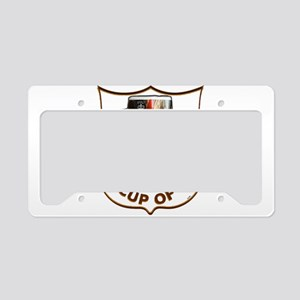 my cuppa tea License Plate Holder