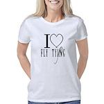 i love fly tying Women's Classic T-Shirt