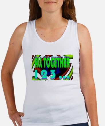 all together now 123 Women's Tank Top