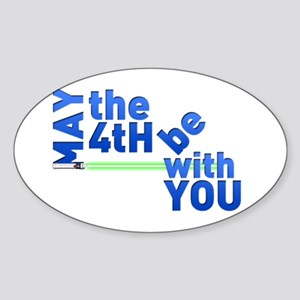 May the 4th Sticker (Oval)