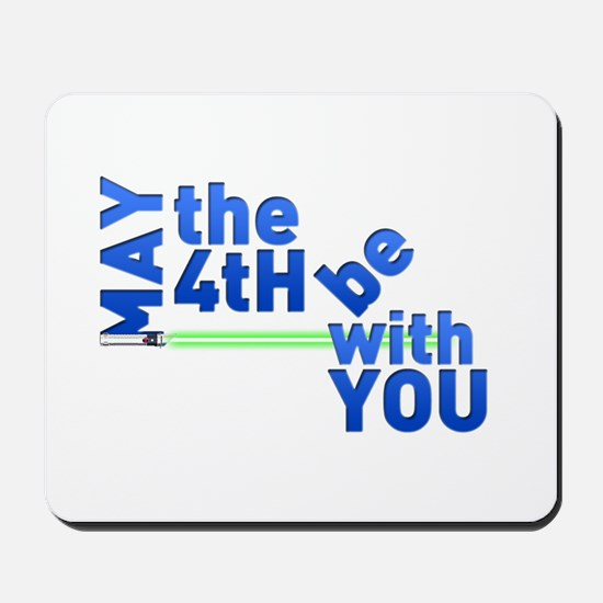 May the 4th Mousepad